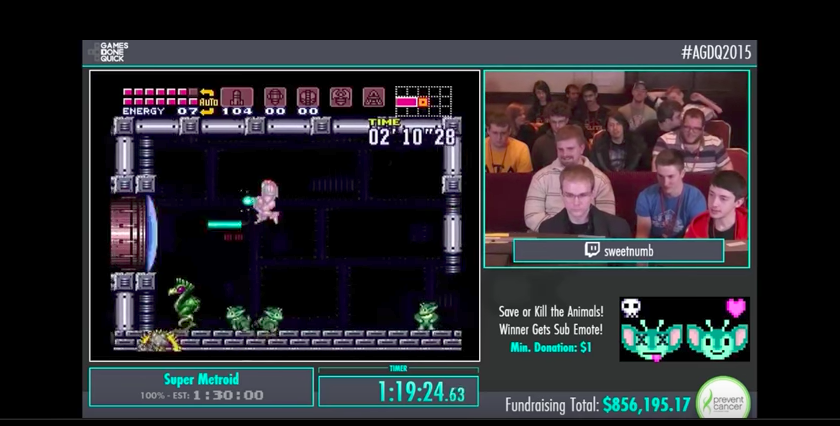 Super Metroid's Creators Want You To Save The Animals