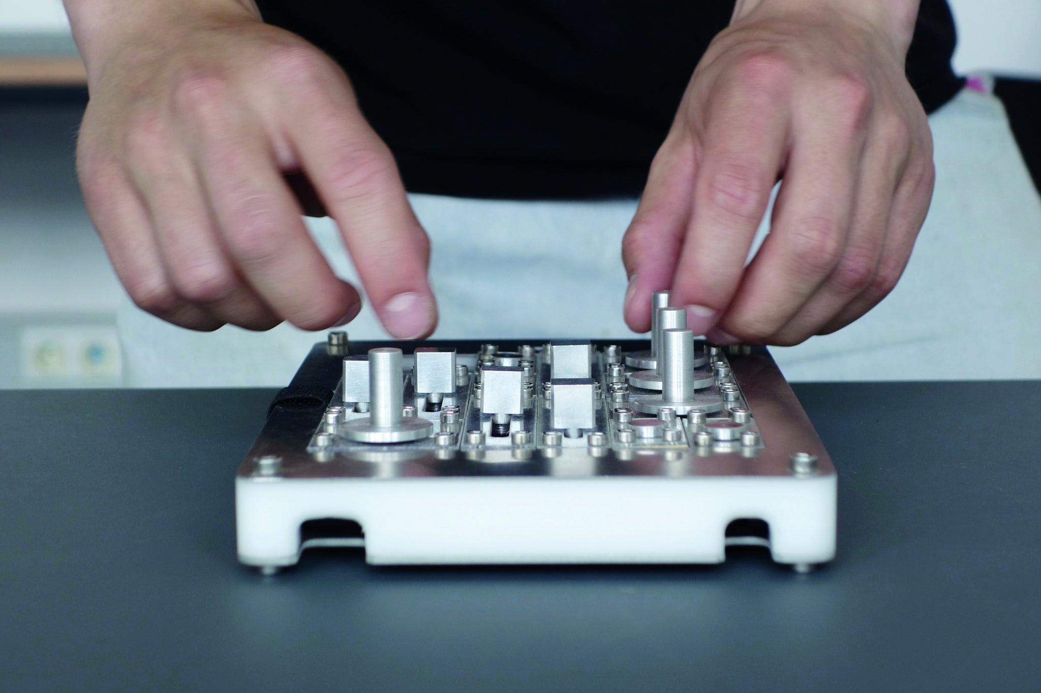 These Knobs And Sliders Turn An iPad Into A Custom Tactile Interface