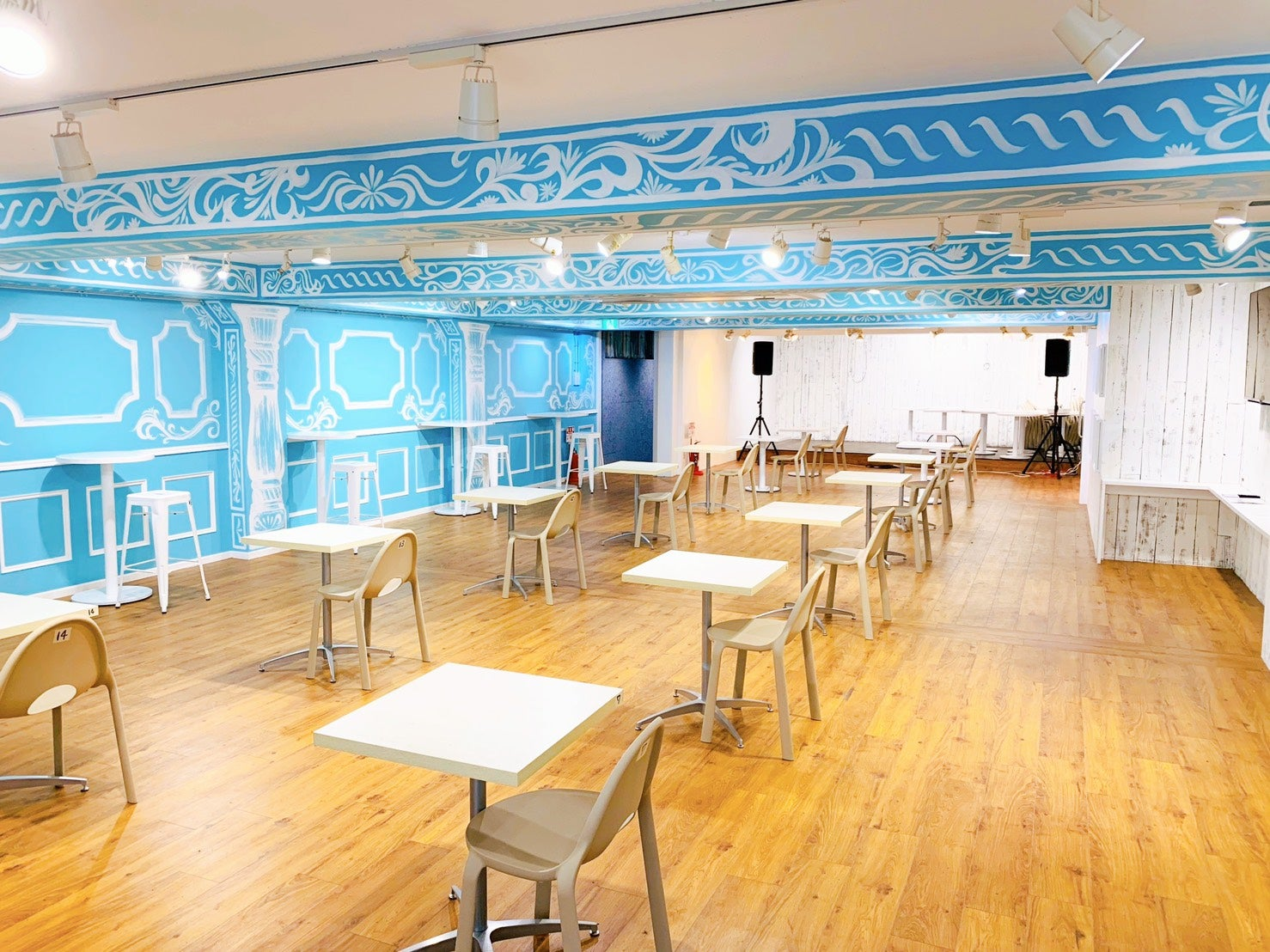 Social Distancing Cafe Opens In Tokyo