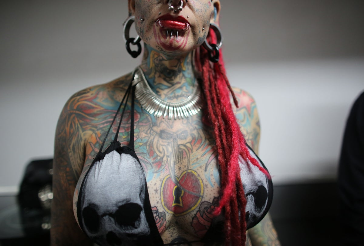 Woman With Most Extreme Body Modifications Just Got Even