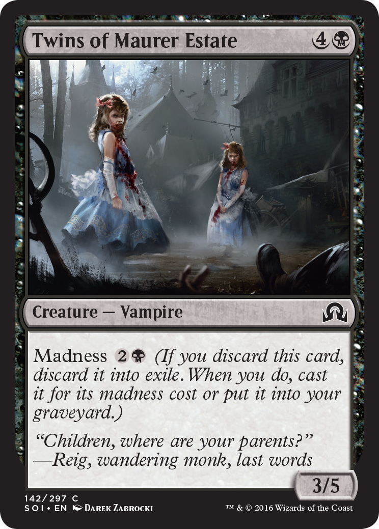 Bask in the Gothic Glory of This Haunting Magic the Gathering Art