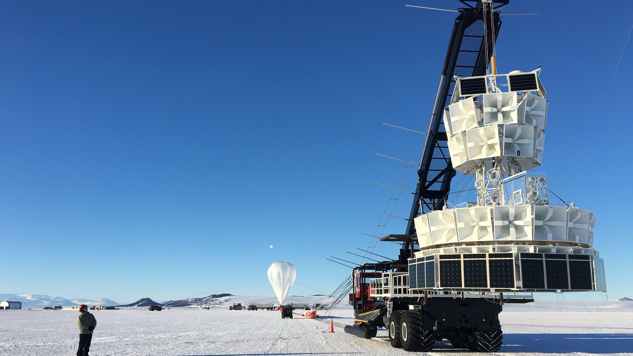 New Particle Could Explain 'Unusual' Antarctic Weather Balloon Detection