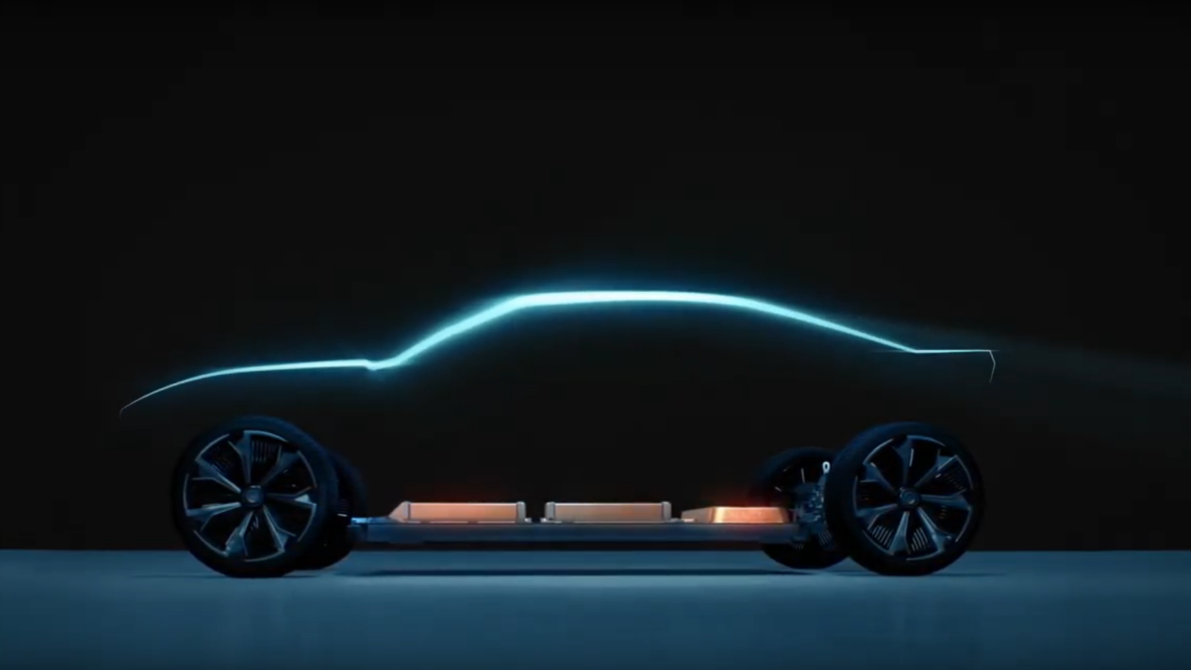 Teaser Shows Possible Electric Chevy Camaro And It's Graciously Not A Crossover