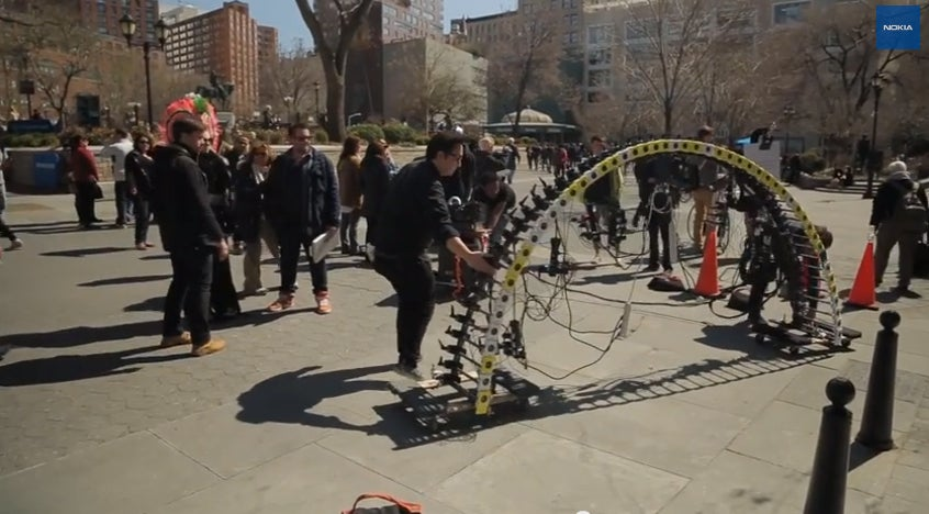 Beautiful spinning video of New York makes me go both ooooh and barf!