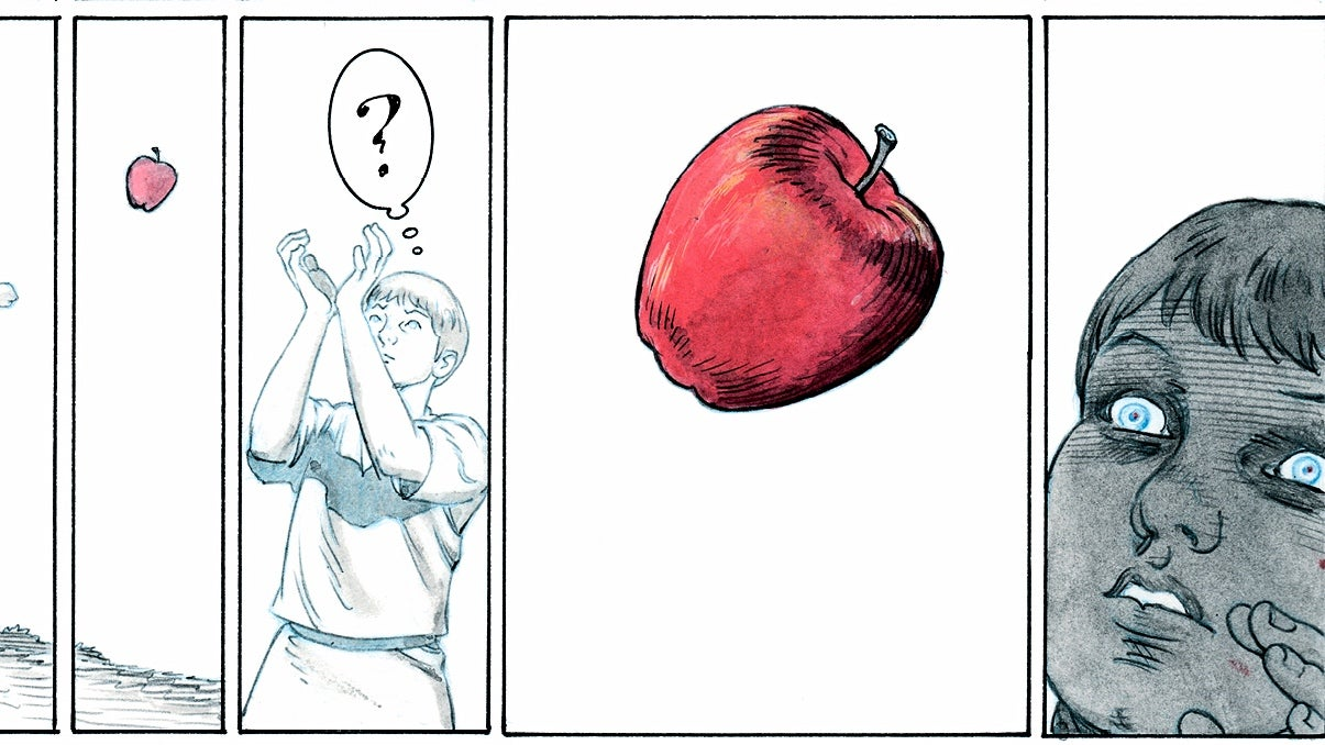 A Look Inside The Colourful Nuance Of The Giver's Graphic Novel