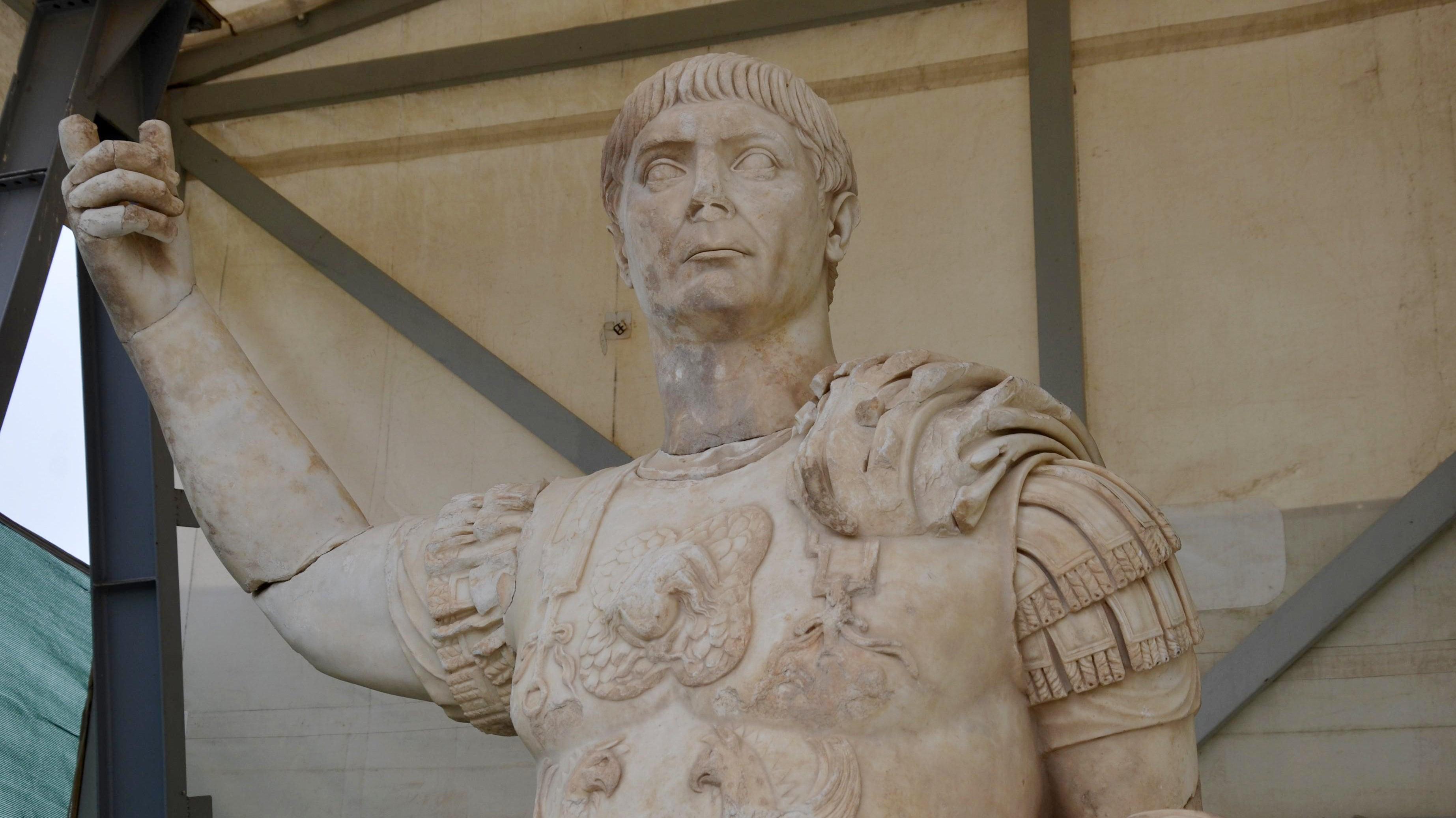 Stunning 10-Foot Statue Of Roman Emperor Found Under Ancient Fountain In Turkey