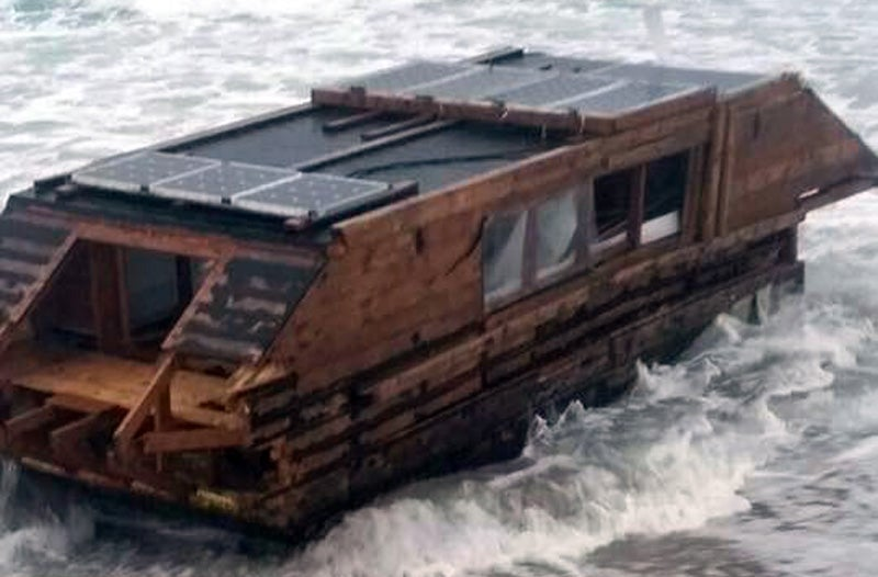 Houseboat Gifted To 'Homeless Youth' Washes Up Empty On Other Side Of Atlantic