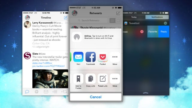 Tweetbot Adds Interactive Notifications and Extension Support