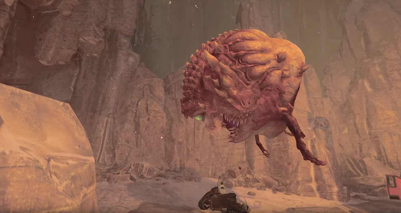 2016's Doom Looks Very Silly In Third Person
