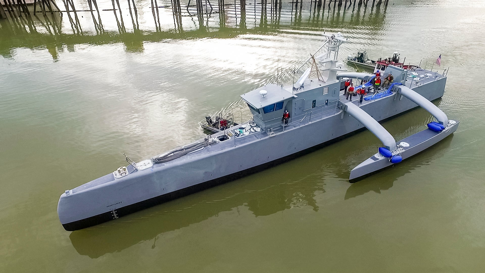 DARPA's New Robot Is Ready to Go Submarine Hunting