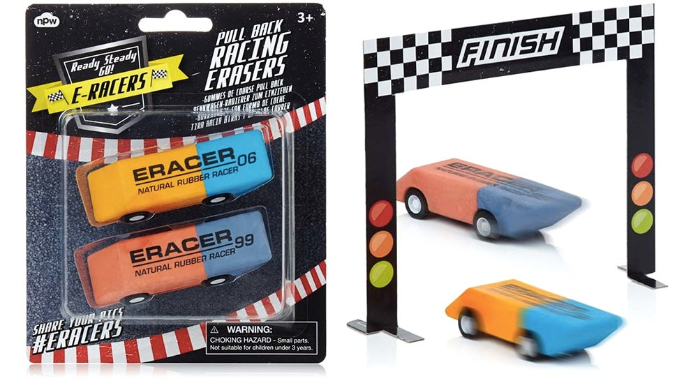 Eraser Racers Fix Mistakes Faster Than You Can Make Them