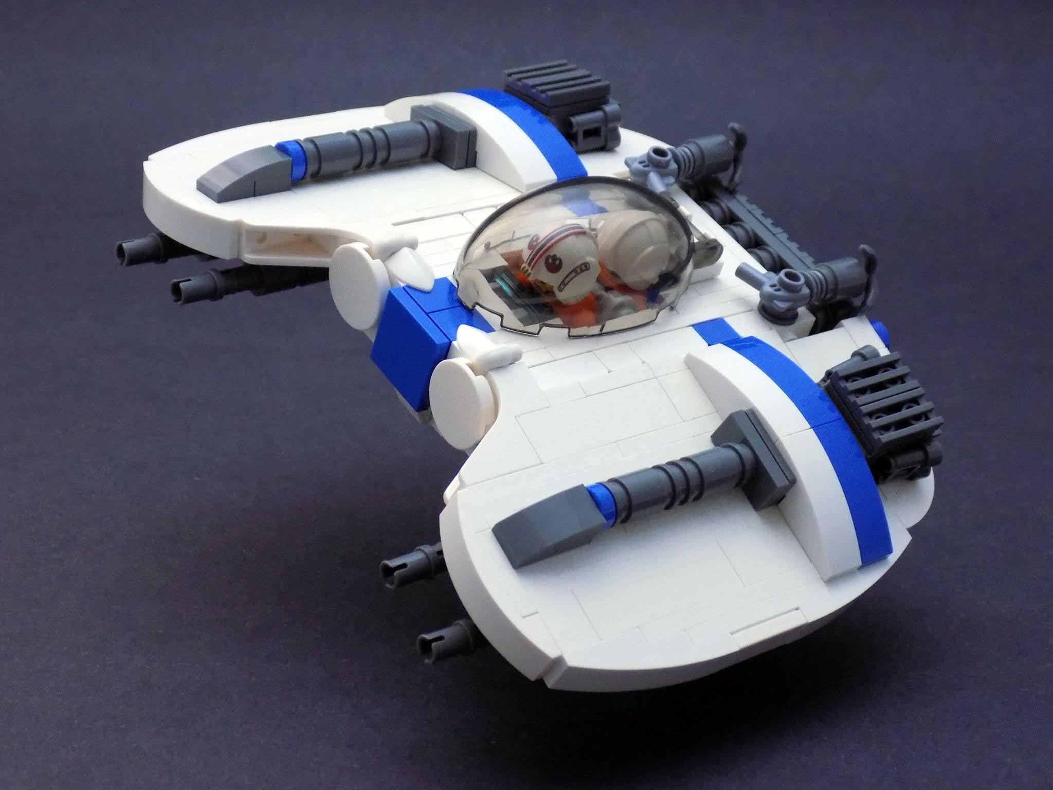 redesigning star wars 39 coolest vehicles using lego kotaku australia. Black Bedroom Furniture Sets. Home Design Ideas