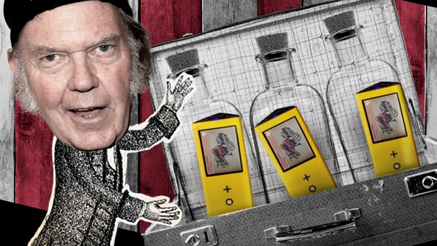 Don't Buy What Neil Young Is Selling