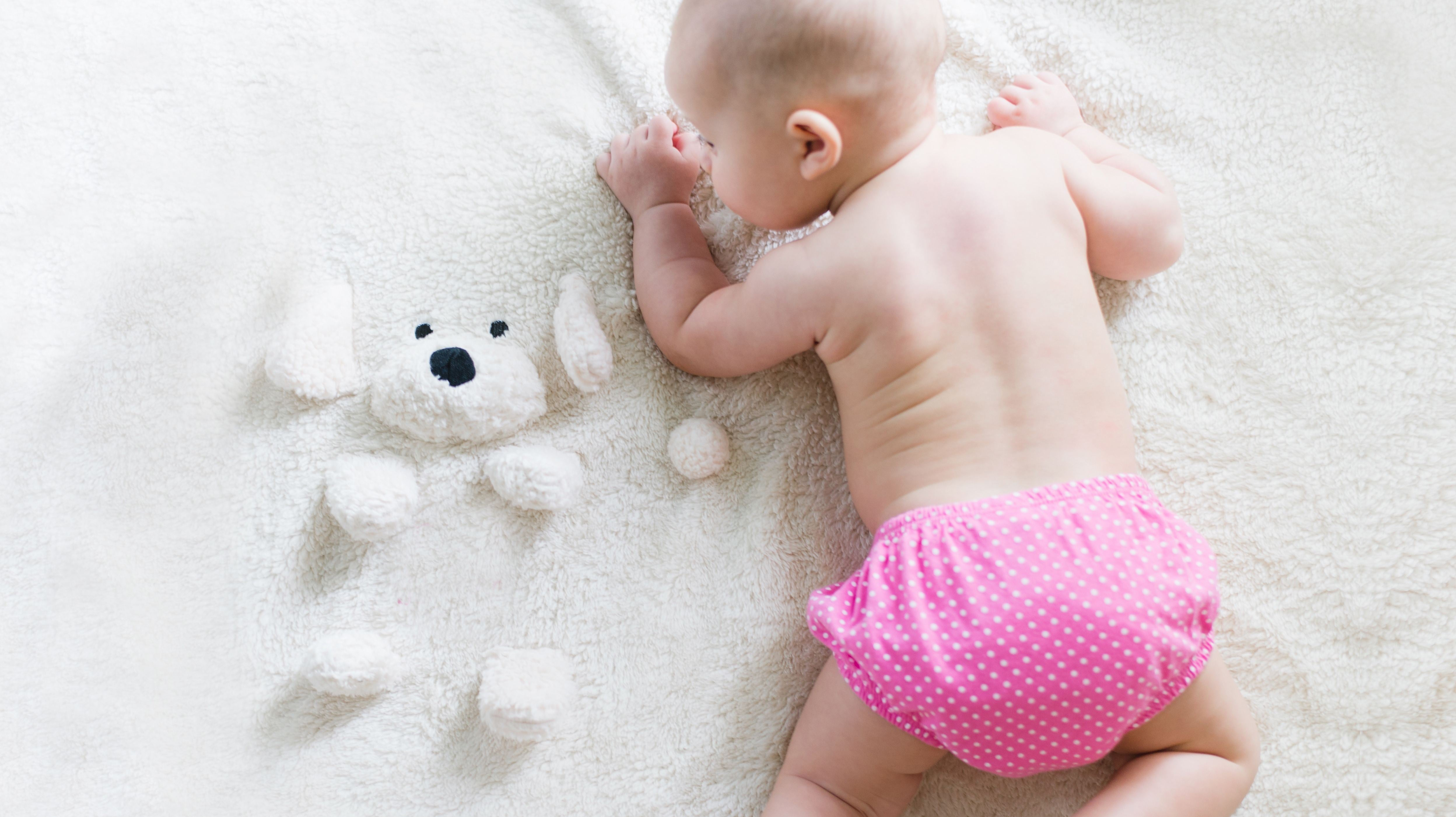 Make Diaper Changes Easier With A Special Toy