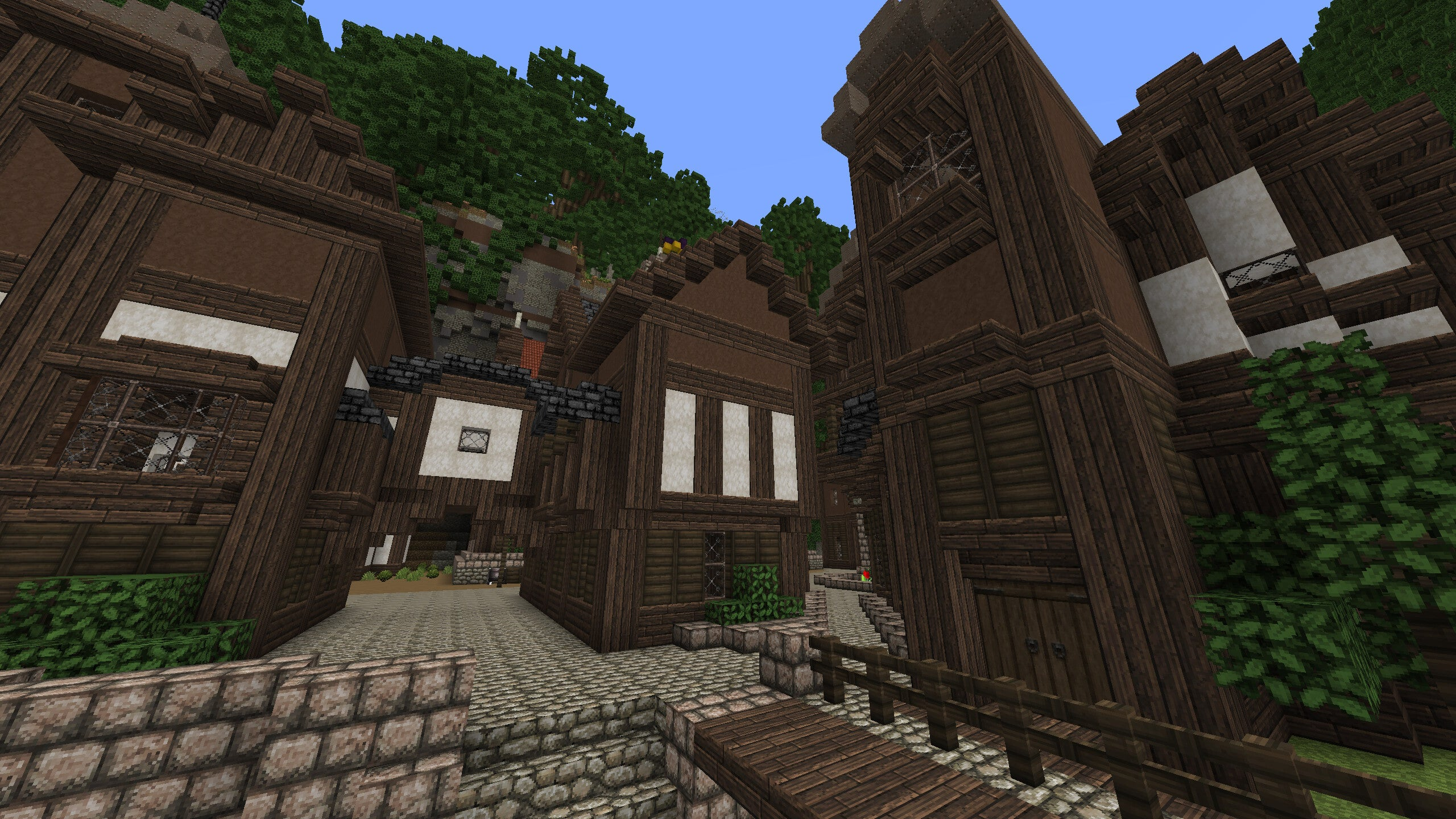 Minecraft Village Would Make a Nice Vacation Spot
