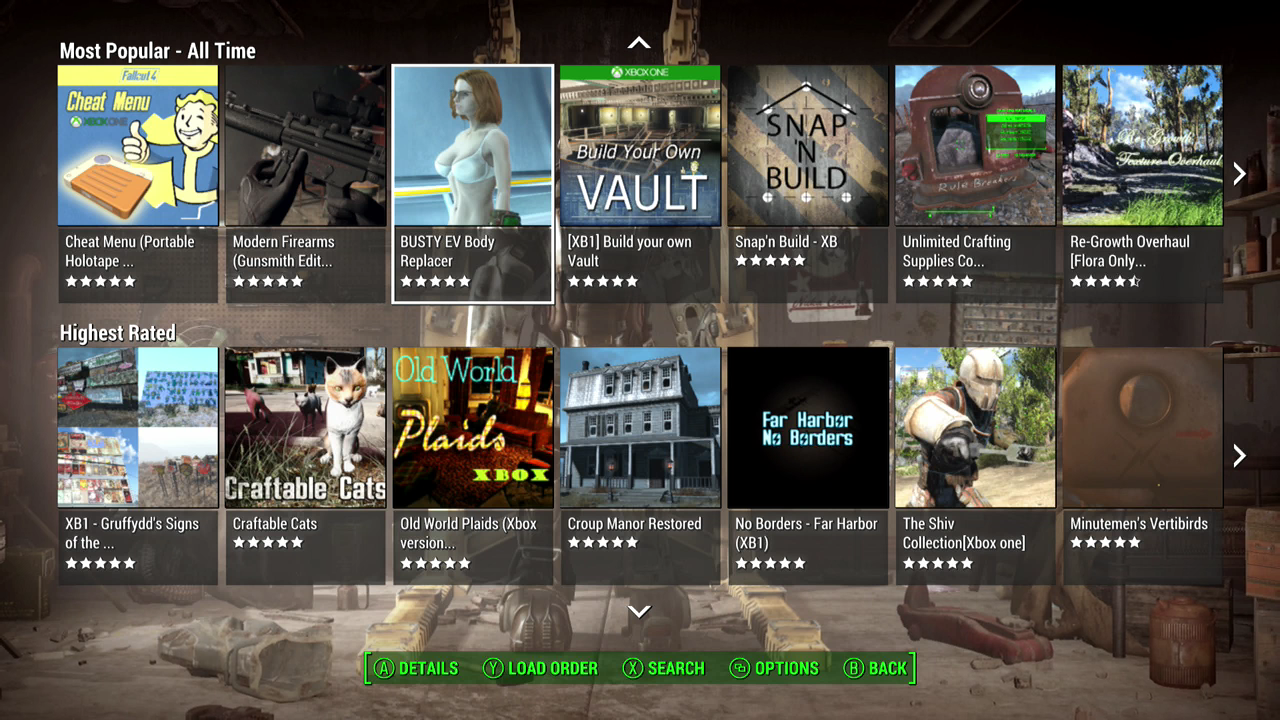 The Most Popular Fallout 4 Mods On Xbox One  Kotaku Australia-6572
