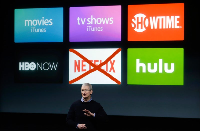 Apple's New 'TV Guide For Streaming' Won't Include Netflix: Report