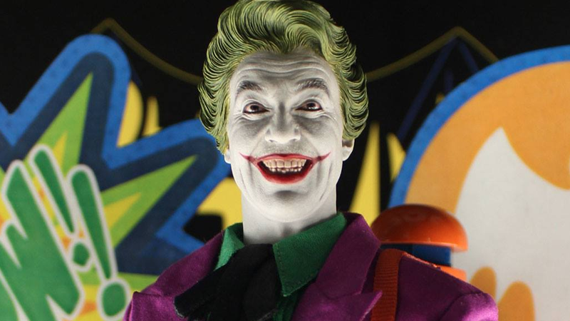 The Best Accessory of Hot Toys' Batman '66 Joker Figure Is His Painted-Over Moustache