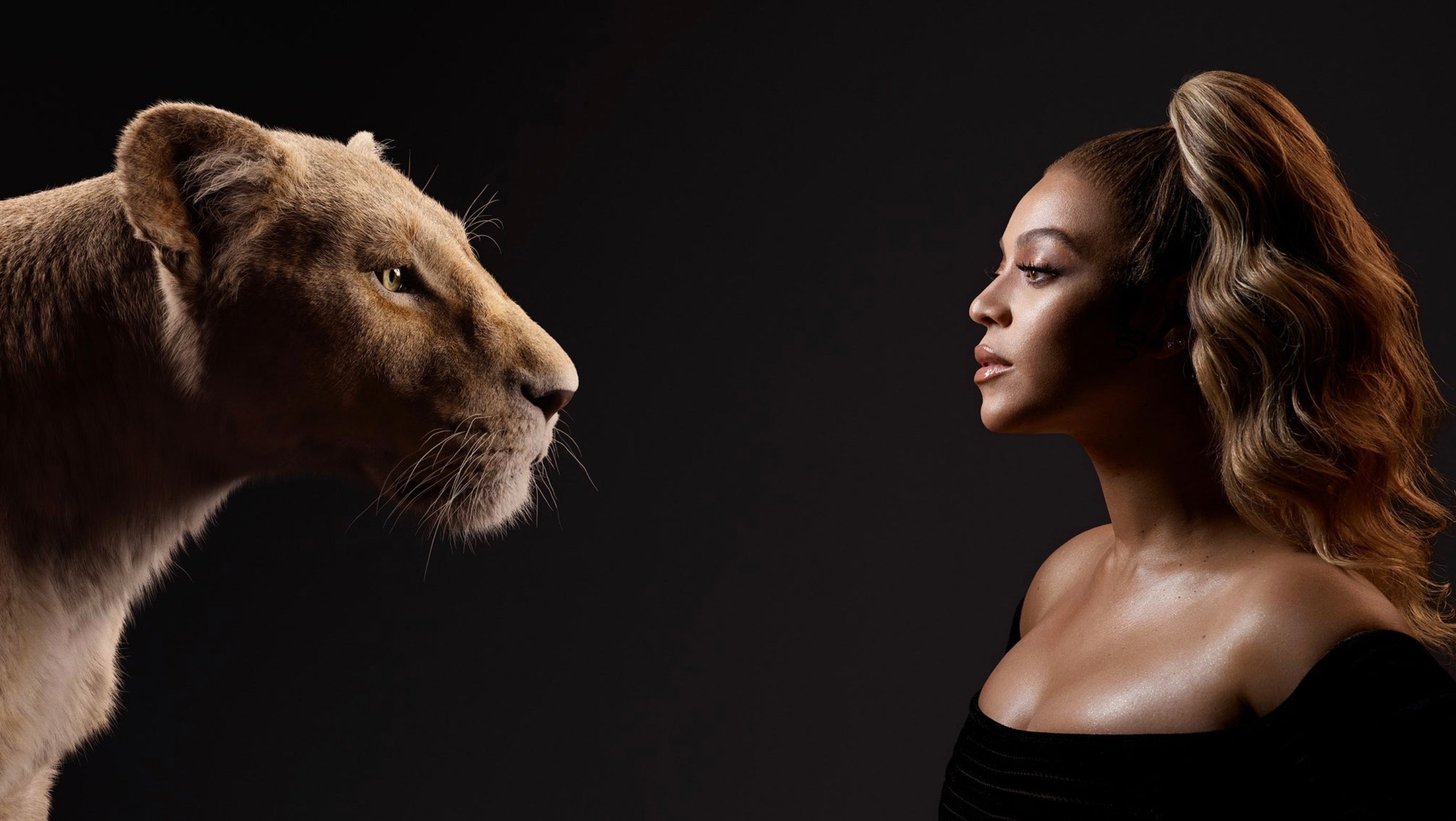 The Stars Of The Lion King Meet Their Digital Counterparts In A Stunning Series Of Photos