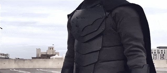 Real-Life Batsuit Finished, Can Take A Beating