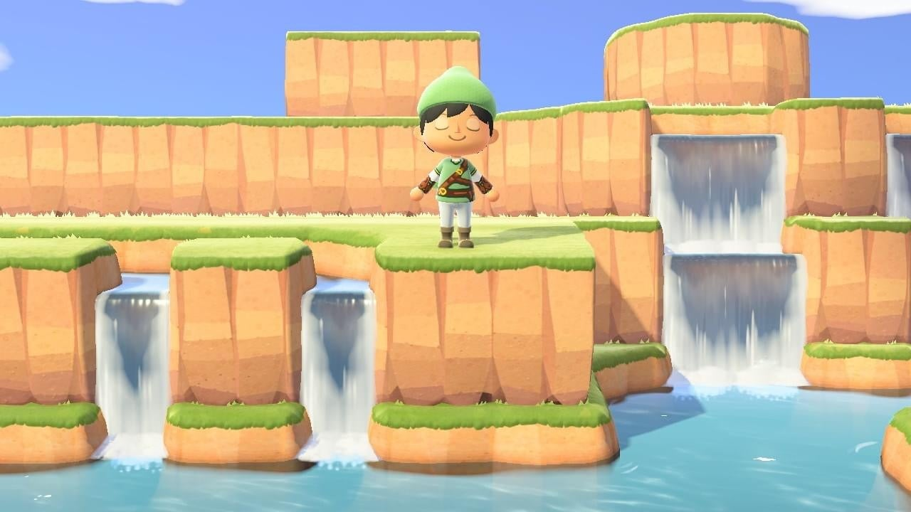 Link To The Past's Hyrule Recreated In Animal Crossing