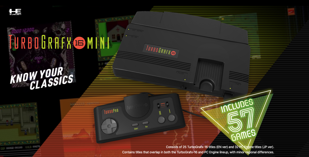TurboGrafx-16 Mini Delayed Due To Coronavirus