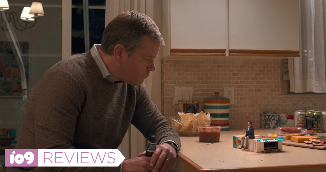 Downsizing Is A Clever Big-Idea Science-Fiction Comedy With A Glaringly Terrible Flaw