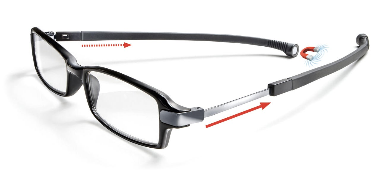 Reading Glasses With a Built-In Secret Neck Strap
