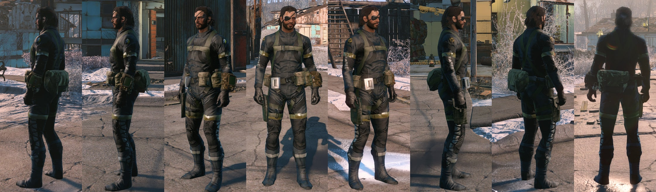 Fallout 4 Mod Lets You Play As Big Boss And Quiet