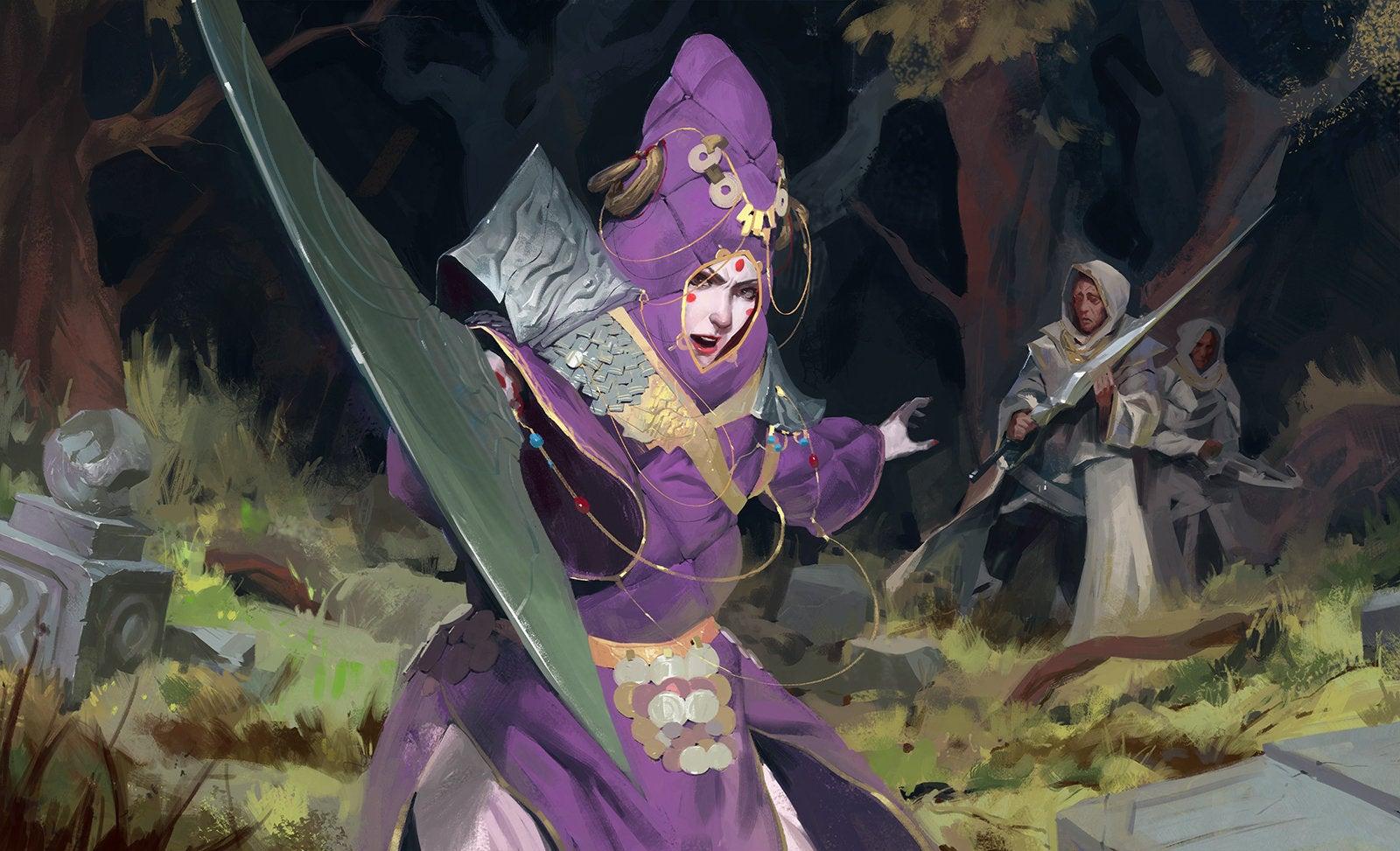Nice Sword, Clown Lady