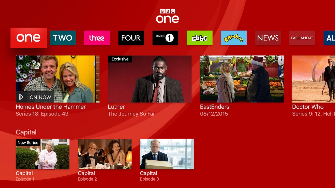 BBC iPlayer Is Now Available on Apple TV