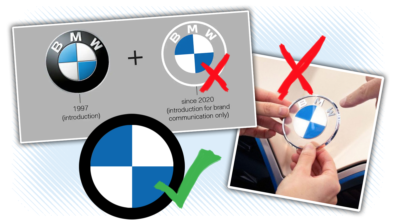 Here S How Bmw Screwed Up Its Logo Redesign