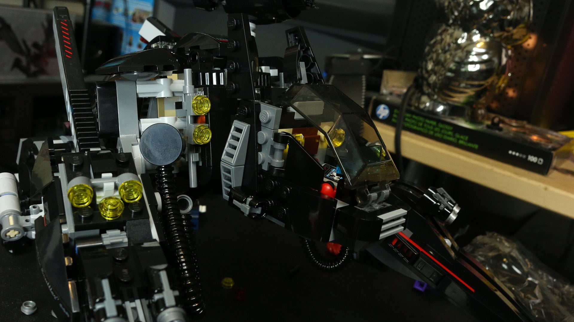 Toy Time Plays With The Most Lego Batman Vehicle Ever