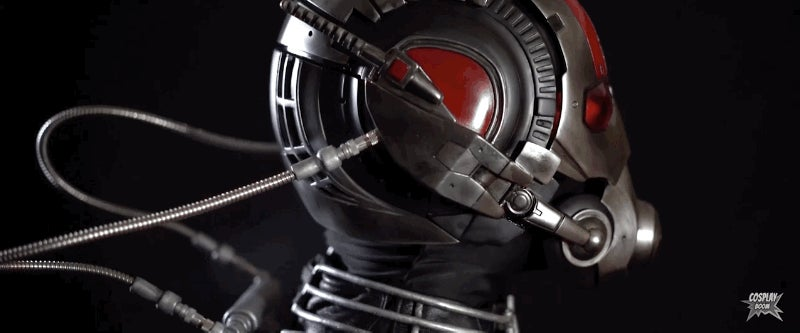 The Only Thing This Ant-Man Cosplay Doesn't Do Is Shrink