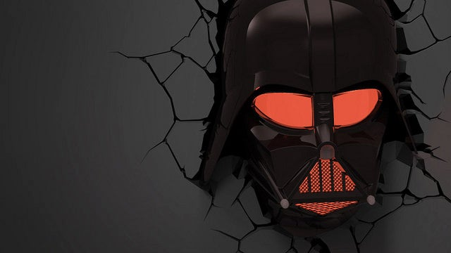 Skip the Taxidermy and Put Glowing Star Wars Heads On Your Walls