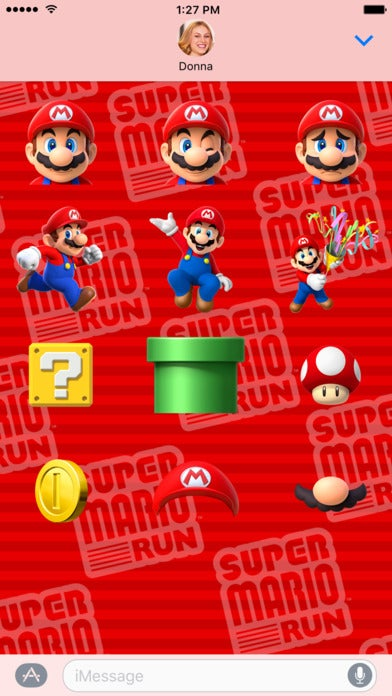 Super Mario iMessage Stickers Seem Like A Good Reason To Upgrade To iOS 10