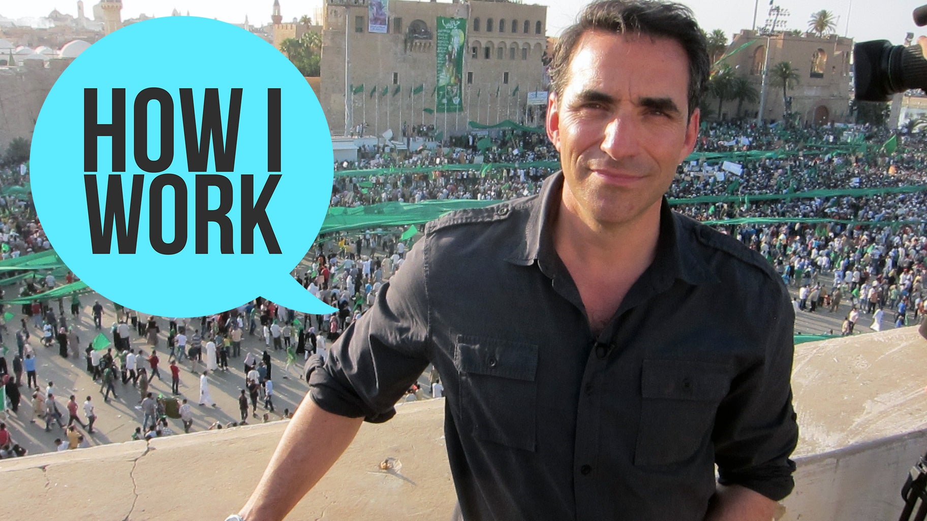 I'm War Correspondent And Trint Founder Jeff Kofman, And This Is How I Work