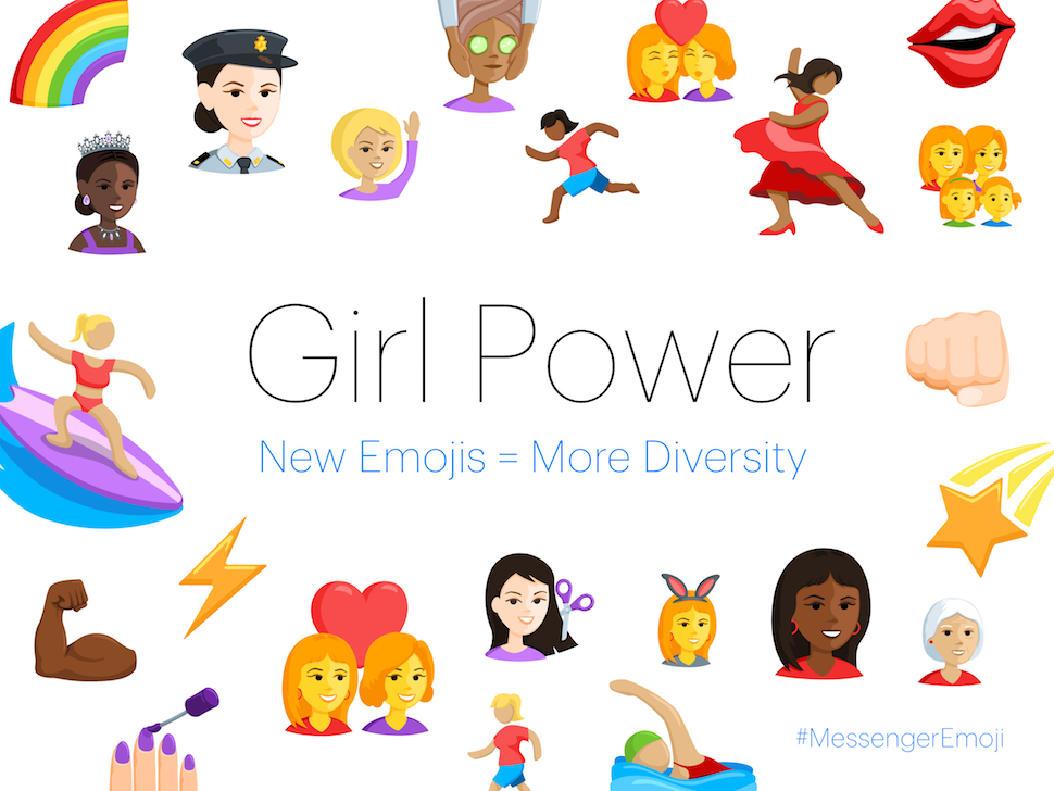 Facebook Will Finally Roll Out Some Diverse Emojis for Messenger