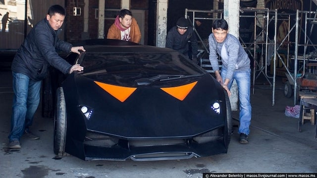 These guys made a $US2 million Lamborghini with only $US15,000 and a Volvo