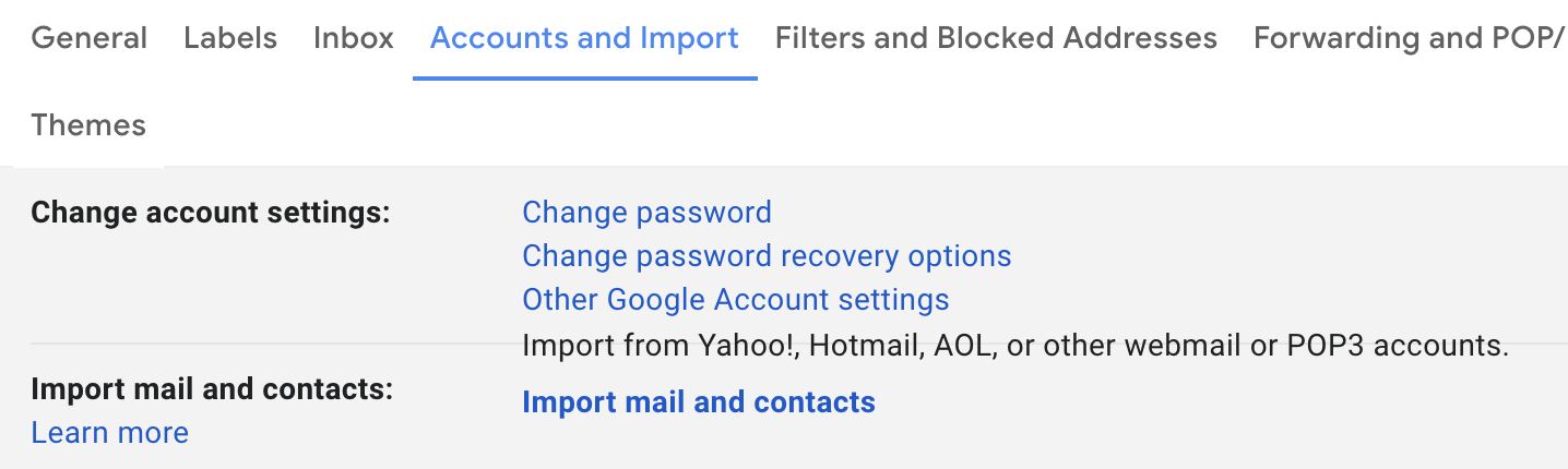 How Do I Import Another Email Account Into Gmail