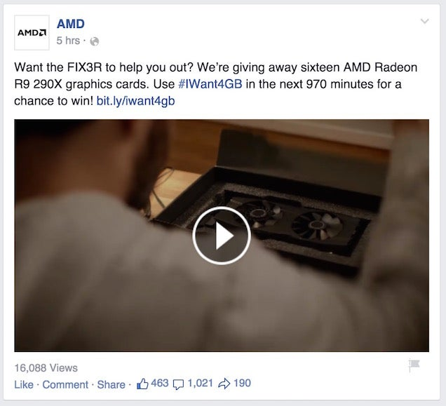 AMD Taunts Nvidia Over Latest Graphics Card Controversy