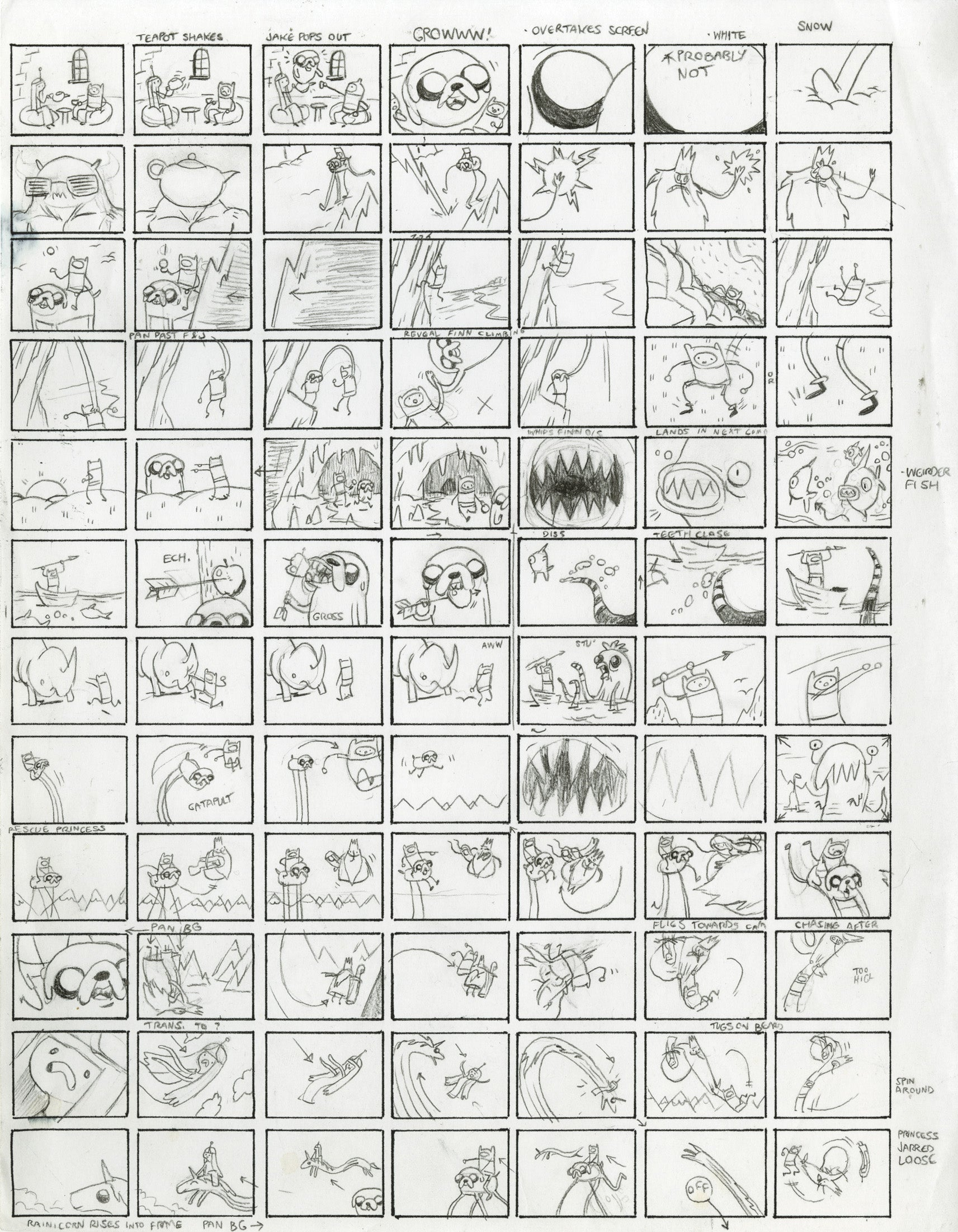 It's Time For Adventure Time (Storyboards)!