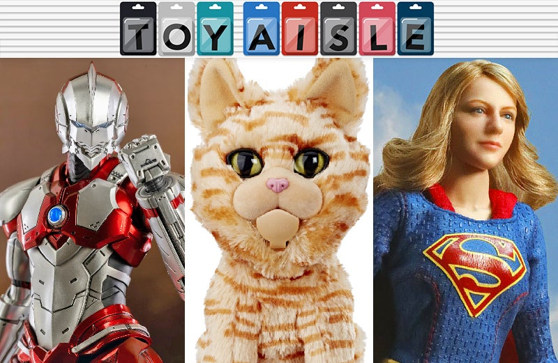 Nothing Can Stop Captain Marvel's Cat-Based Domination, And More Purrfect Toys This Week