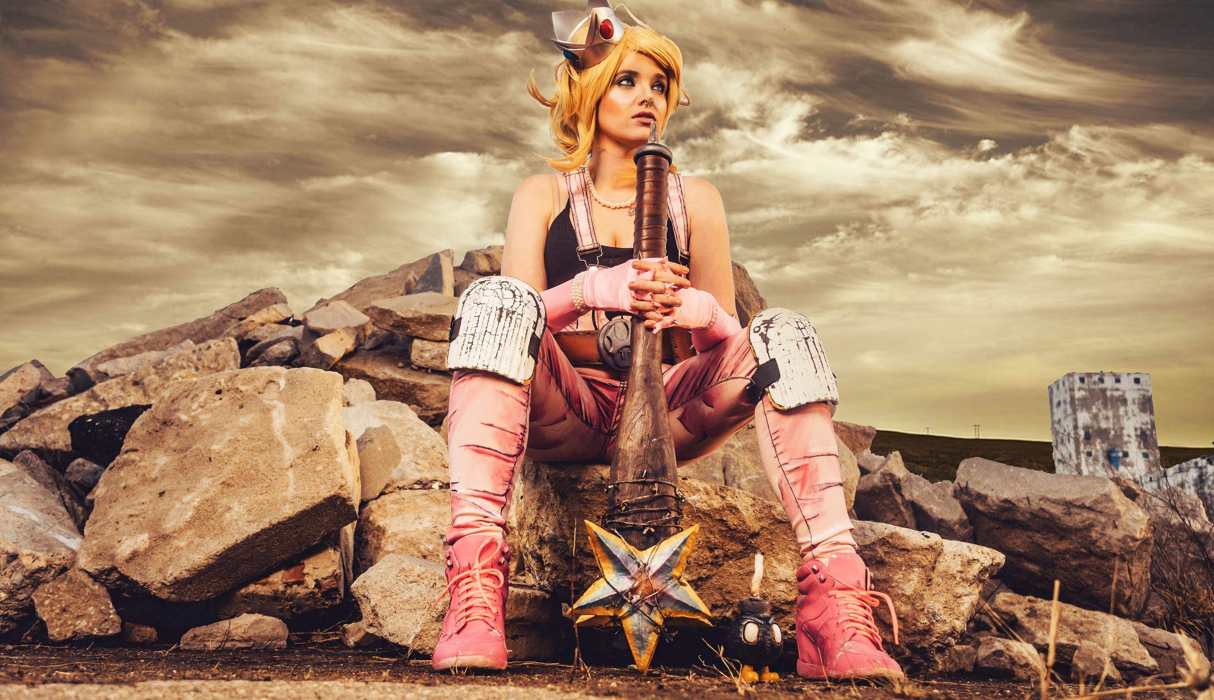 Princess Peach Is Ready For The Apocalypse