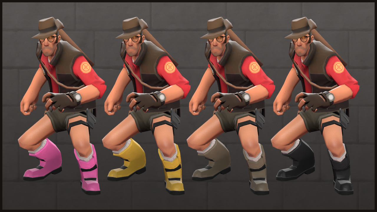 Who Wears Short Shorts? Team Fortress 2's Heavy, That's Who.