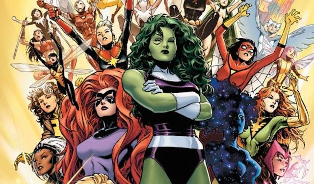 Marvel Just Announced the First Women-Only Team of Avengers