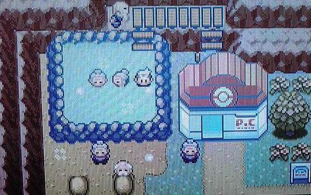 Bathing Grandmas Apparently Cut from Pokémon ORAS