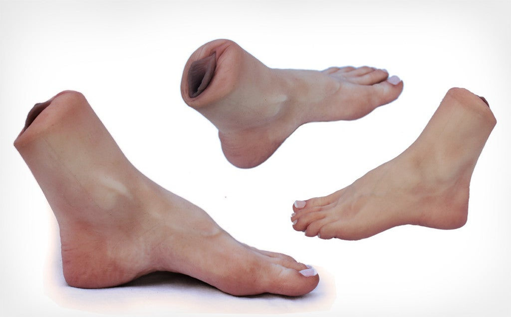 This Is the Vajankle, a Fleshlight Foot You Can Fuck