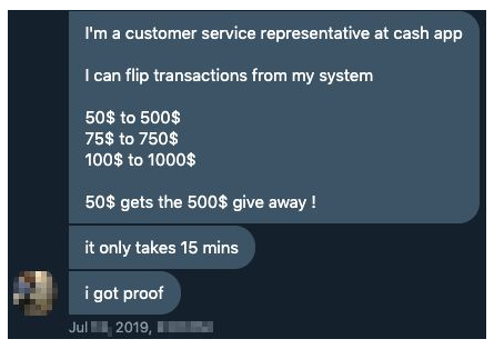Scammers Target Cash App Giveaways On Twitter And Instagram