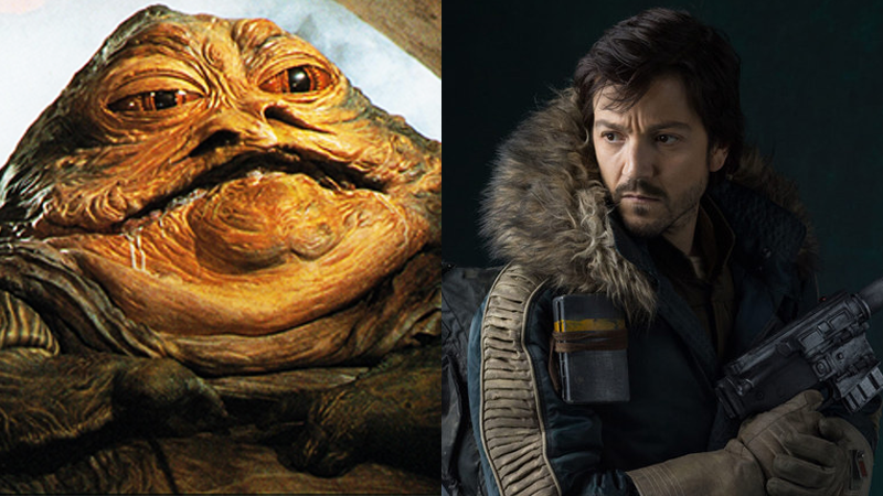 Diego Luna ReallyWants To Touch Jabba The Hutt